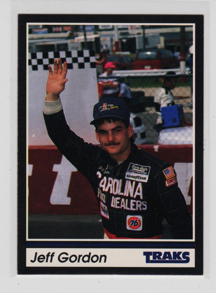 1991 Traks #1 Jeff Gordon Rookie Card