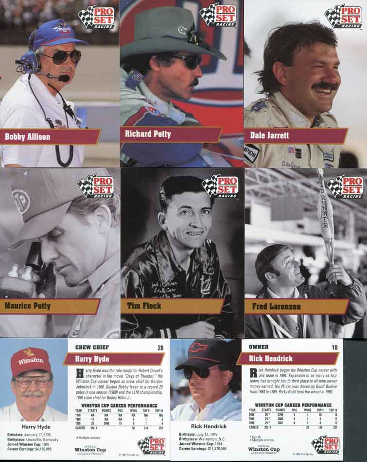1991 Pro Set Trading Cards