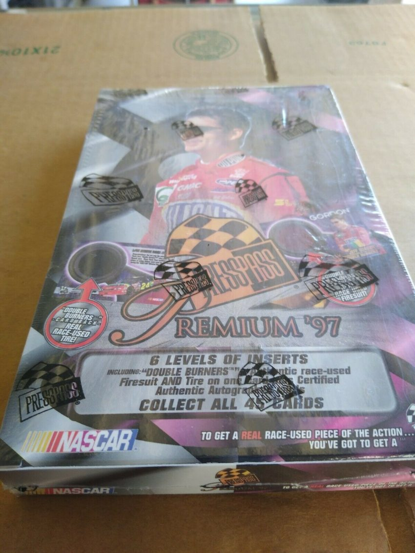 1997 Press Pass Premium Box
