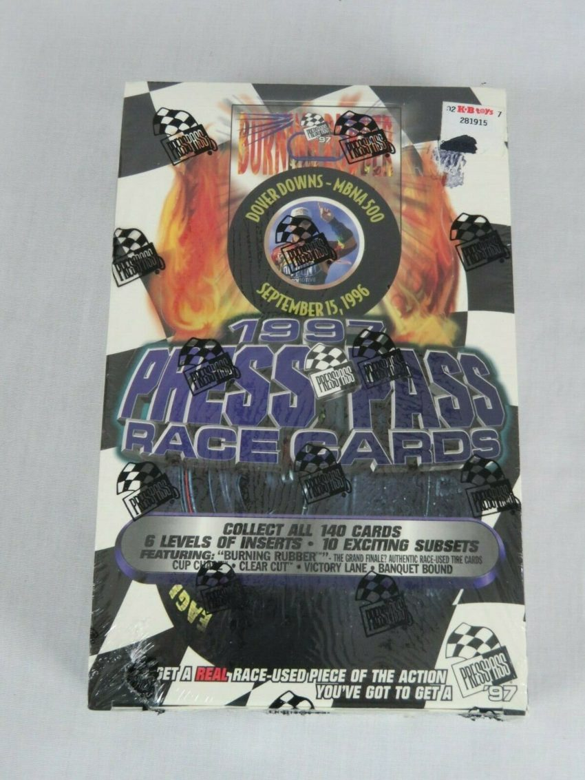 1997 Press Pass Wax Box