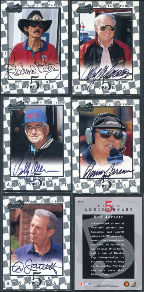 1997 Action Packed Fifth Anniversary Autographs