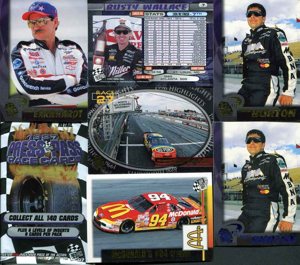 1997 Press Pass Racing
