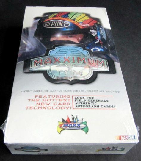 1998 Upper Deck Maxx Maxximum Wax Box