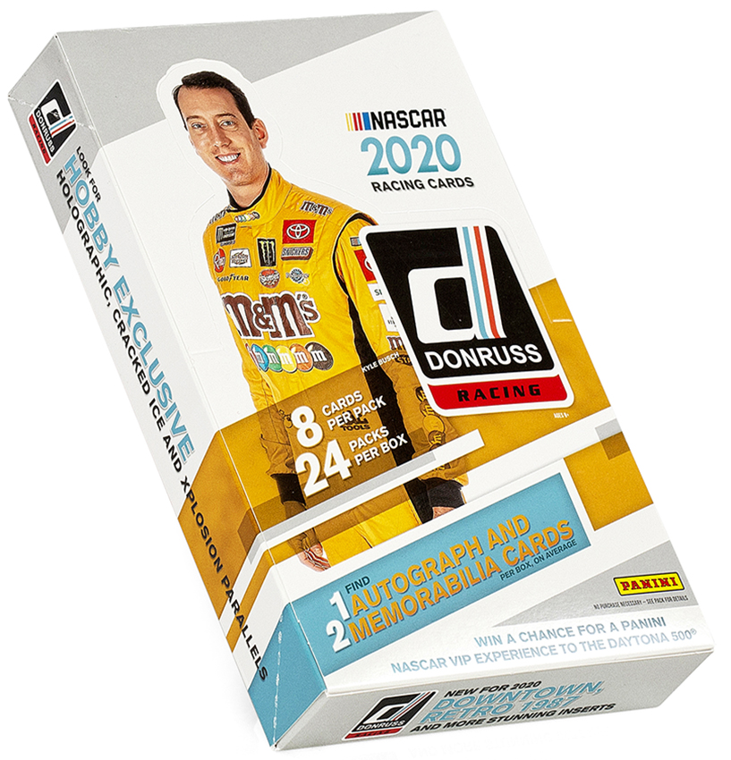2020 Donruss NASCAR Racing Hobby Box