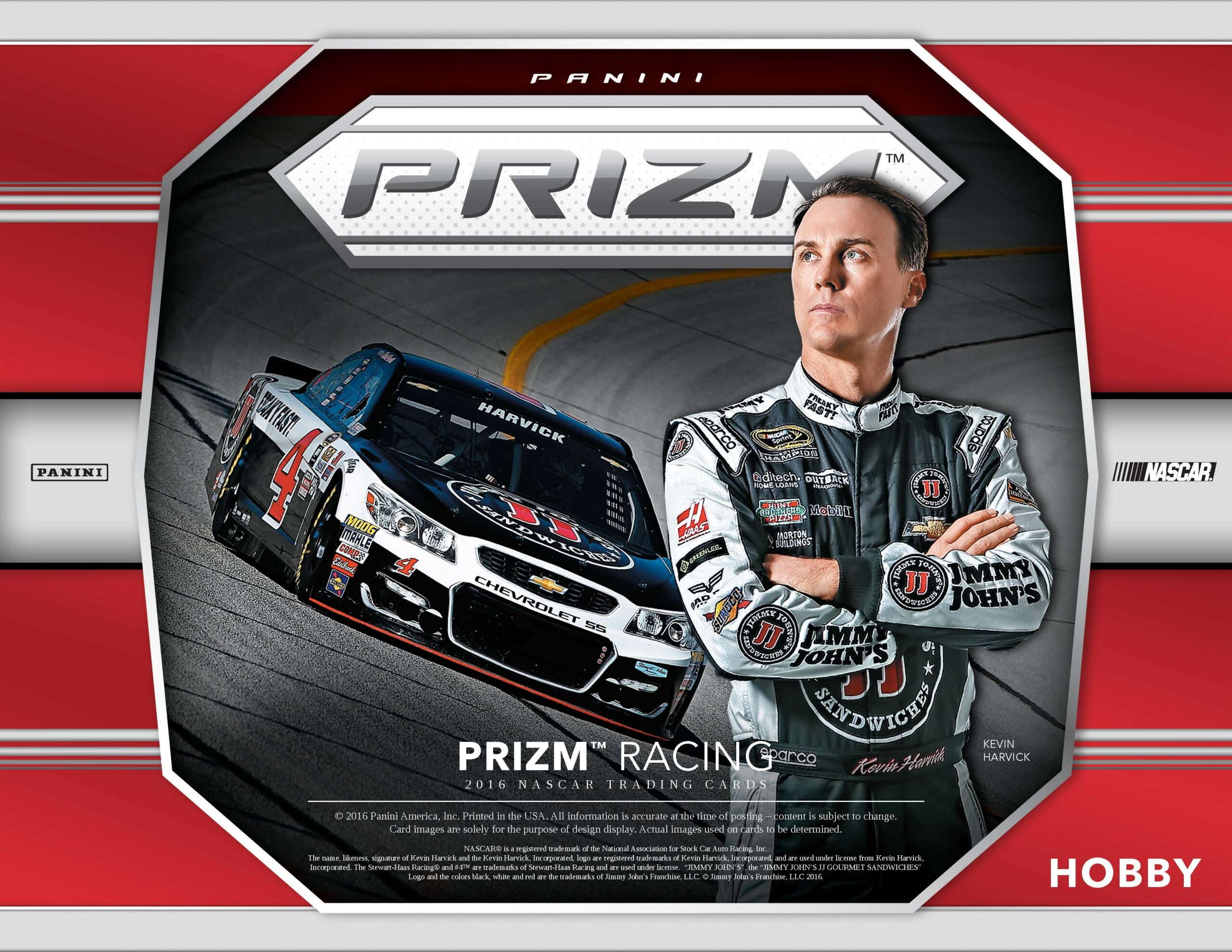 2016 Panini Prizm Racing Slide