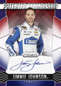 2016 Panini Prizm Jimmie Johnson