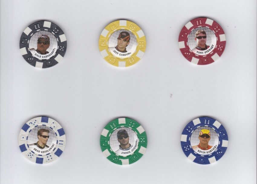 2009 Wheels Main Event Poker Chips