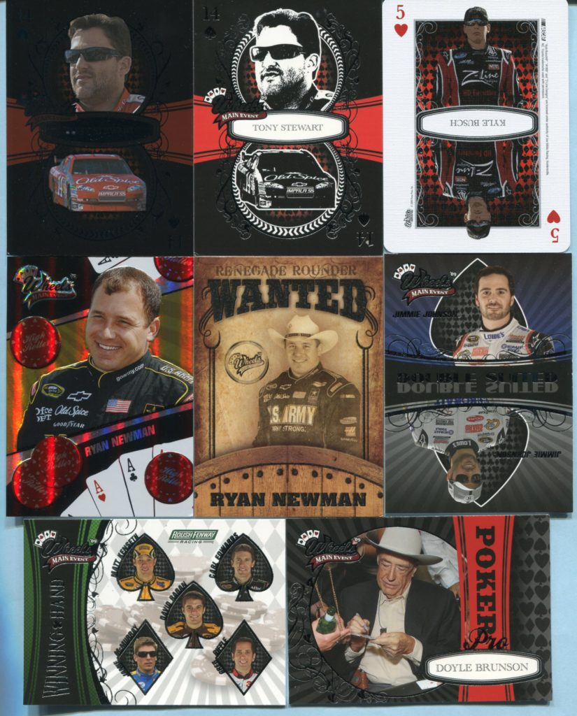 2009 Wheels Main Event Trading Cards